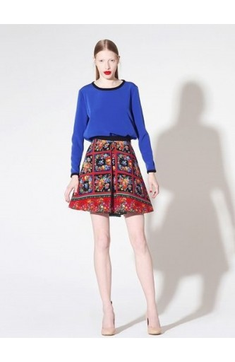 Caterina Gatta vintage fabric skirt
