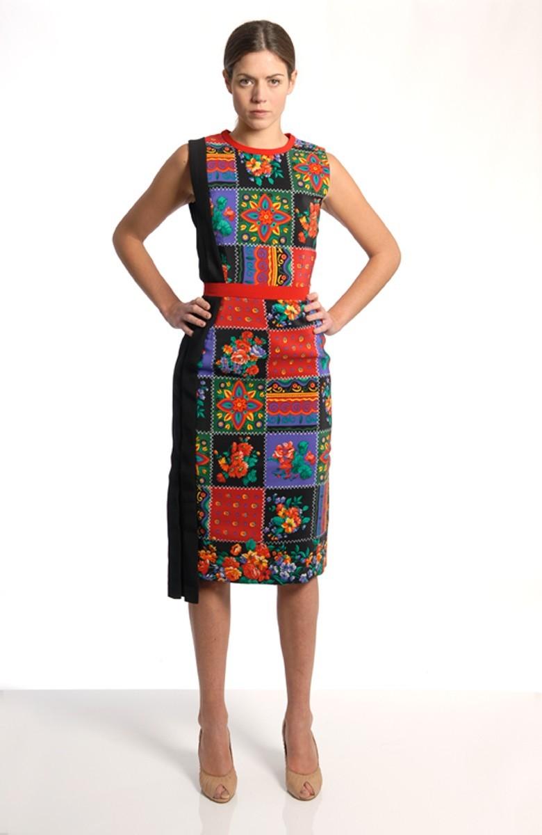 Caterina Gatta plissè dress