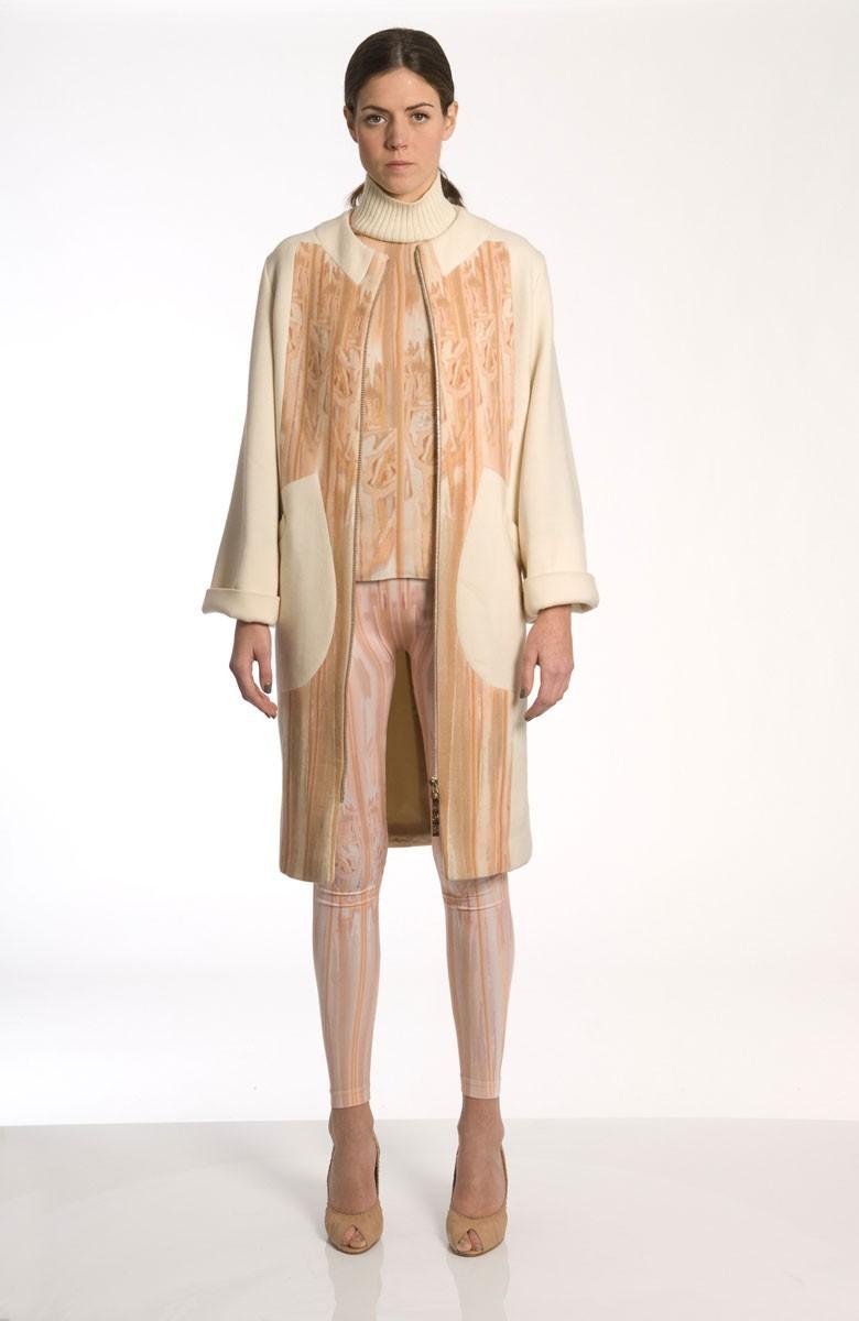 Sergei Grinko wool coat - Muted