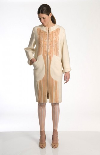 Sergei Grinko wool coat - Muted