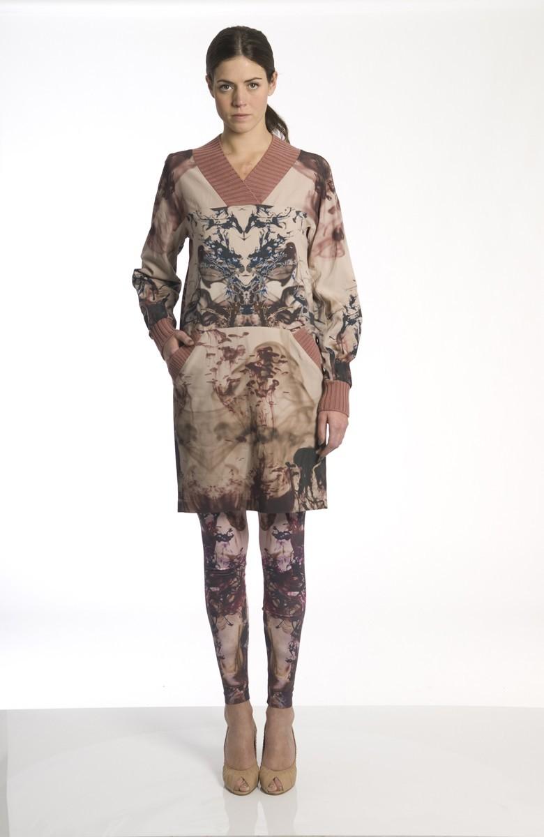 Sergei Grinko Dress - pattern - light wool