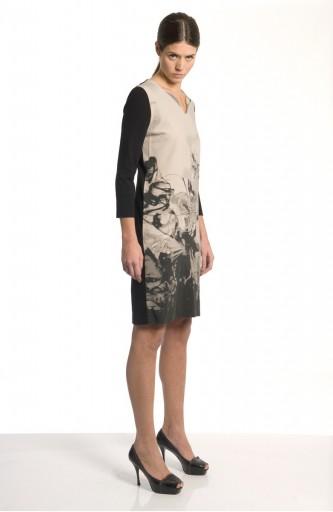 Sergei Grinko Dress - dark pattern