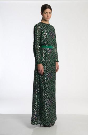 Caterina Gatta vintage fabric long dress