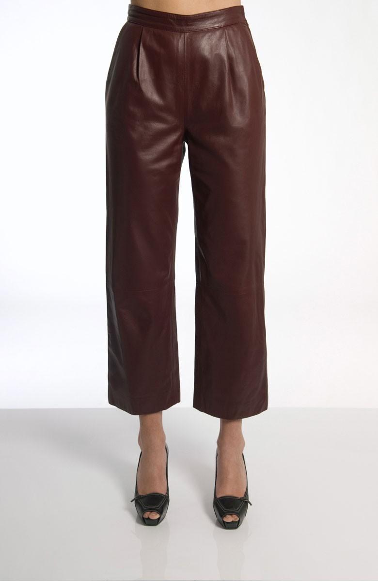 Sergei Grinko leather Trousers