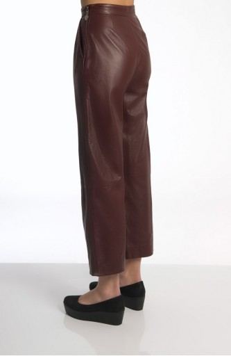 Sergei Grinko leather Trousers