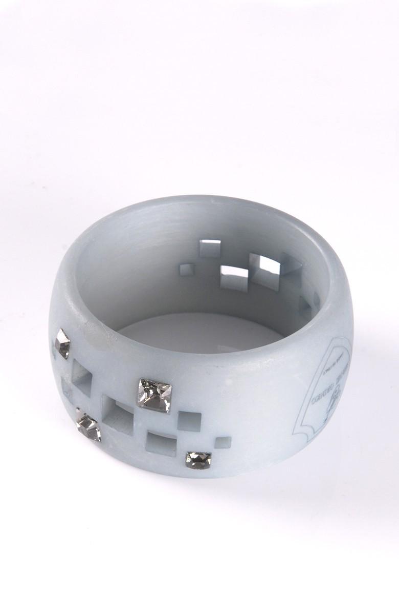 Grinko acetate bracelet with swarosky