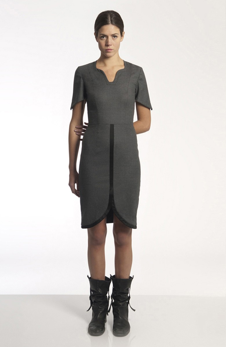 Sergei Grinko Dress - short sleeves