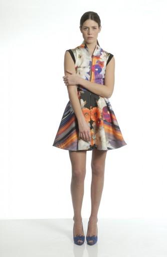 A-LAB Printed dress