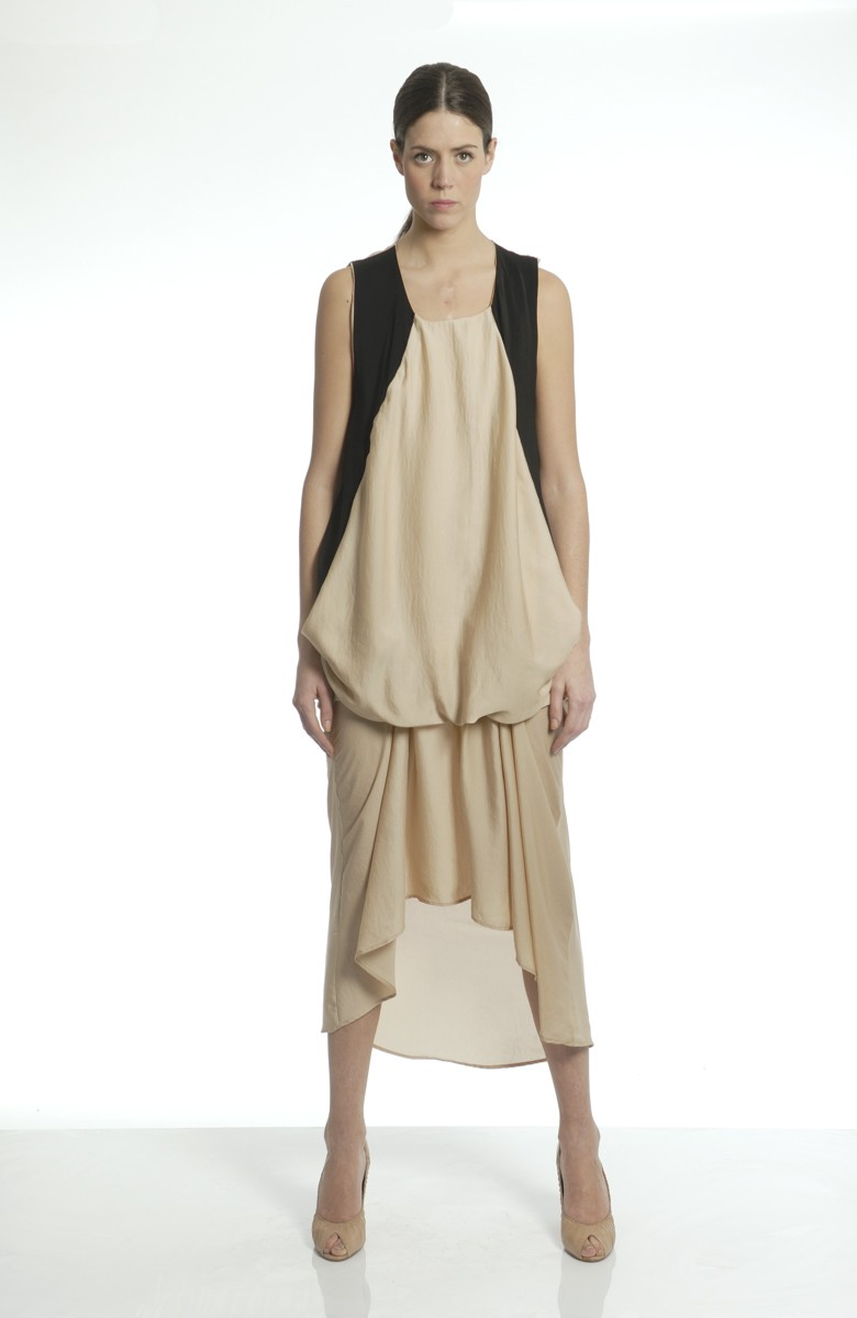 LMDC - long silk dress