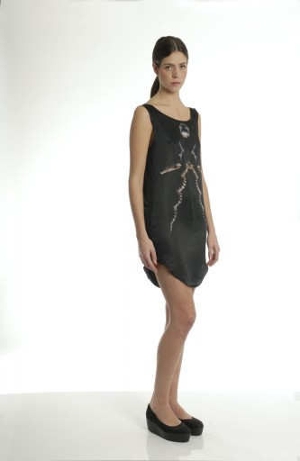 LMDC - short silk animal dress