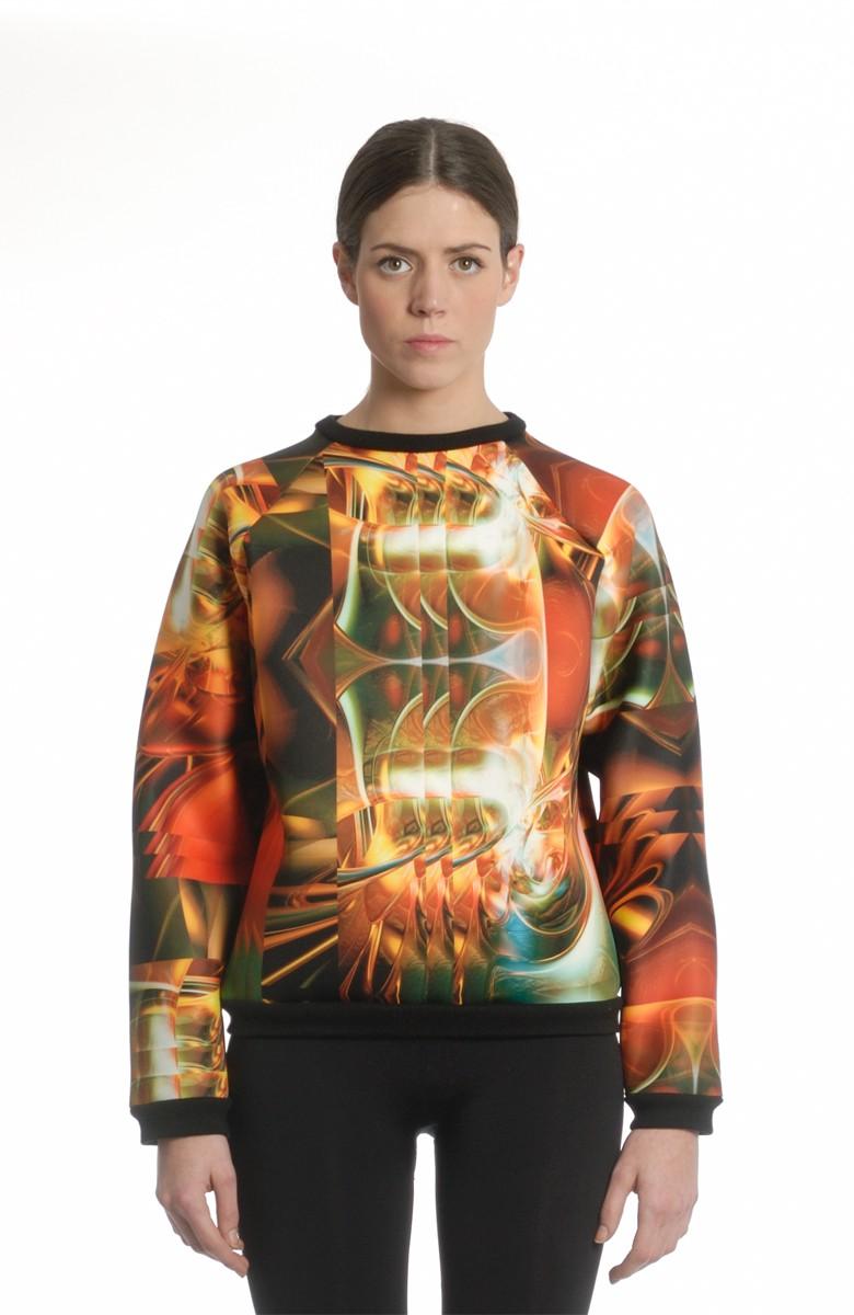 A-LAB - Neoprene sweatshirt Limited edition