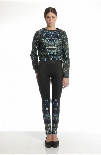 Tothem - Krystal Printed sweatshirt