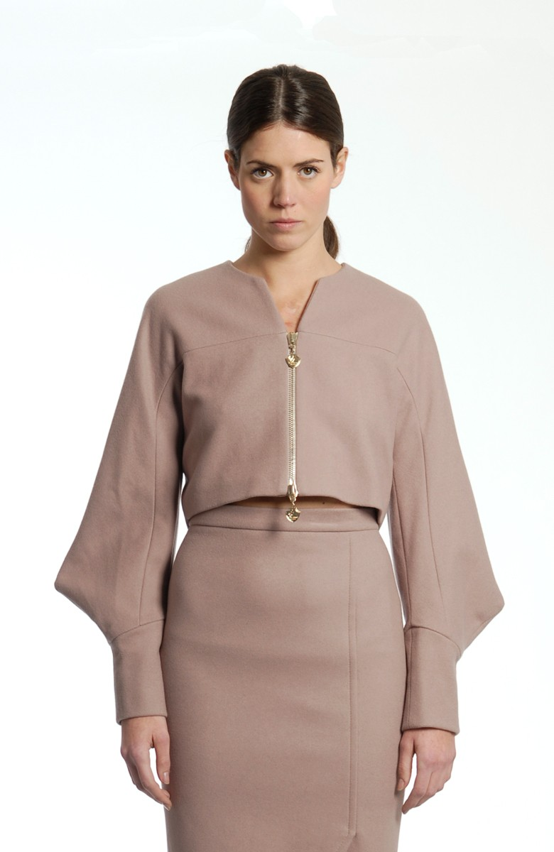 Sergei Grinko wool Jacket -  Shaped sleeve design