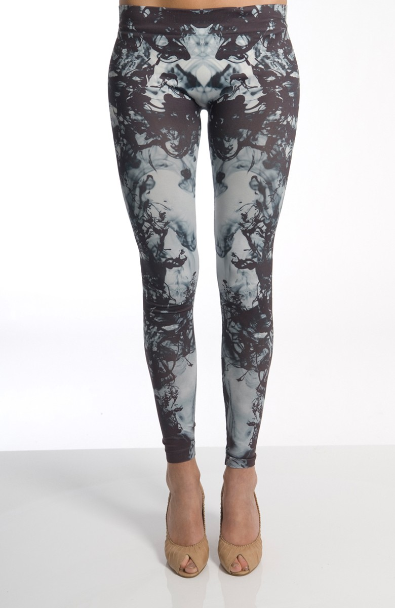 Grinko - Pattern Leggings - Blue