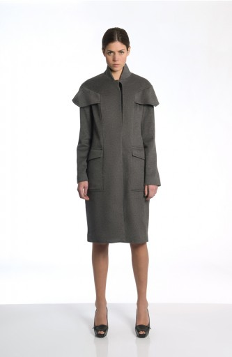 Sergei Grinko wool coat - Military