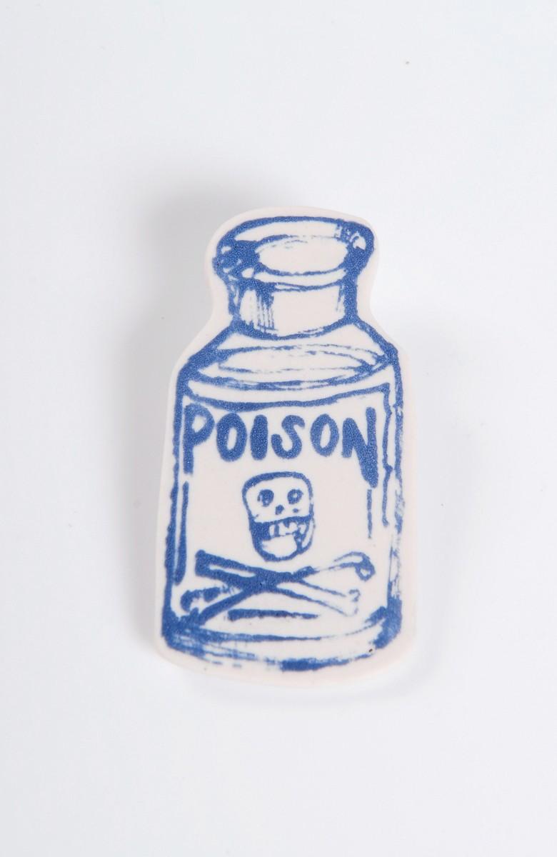 Katie Spragg - Poison Bottle Brooch