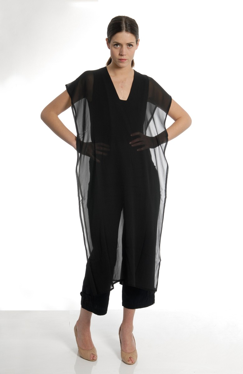 MARIOS - Silk pannel top