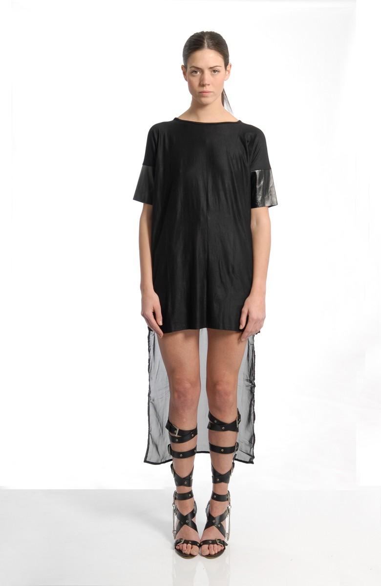 VACCINE - Box tee dress