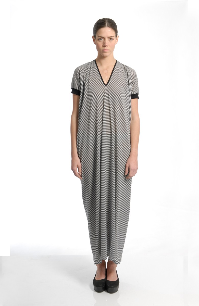 MARIOS - Banner long dress