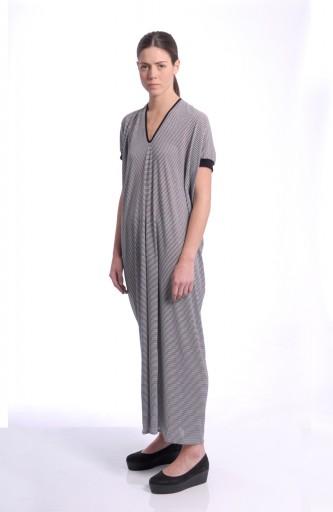 MARIOS - Banner long dress