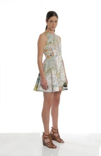 A-LAB - Printed dress